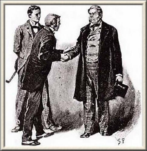 THE RED-HEADED LEAGUE ~ Sherlock Holmes